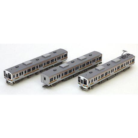 JR211系5000番台(LL編成) 3両増結セット 【グリーンマックス・4338】