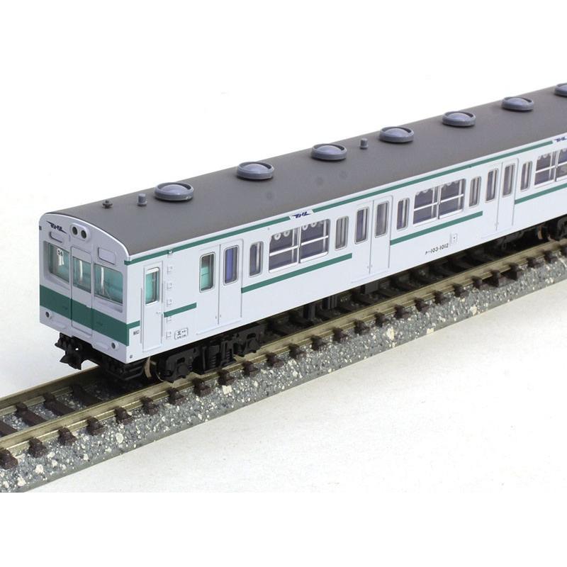 103系-1000・千代田線・改良品・基本6両セット 【マイクロエース・A0792】