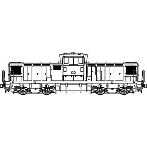国鉄DD13重連寒地型(Mなし) 【トラムウェイ・TW-DD13-2KJT】