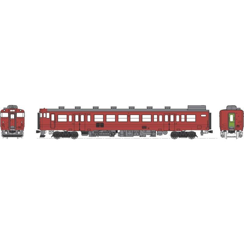 ※新製品 12月発売※ 国鉄キハ47首都圏色-0番代動力なし 【トラムウェイ・TW47-0RT】