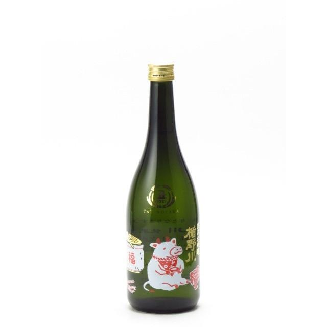 楯野川 純米大吟醸 2021 丑 干支ボトル 720ml 日本酒 父の日 母の日 お中元 あすつく ギフト のし 贈答品|mighty-liquor