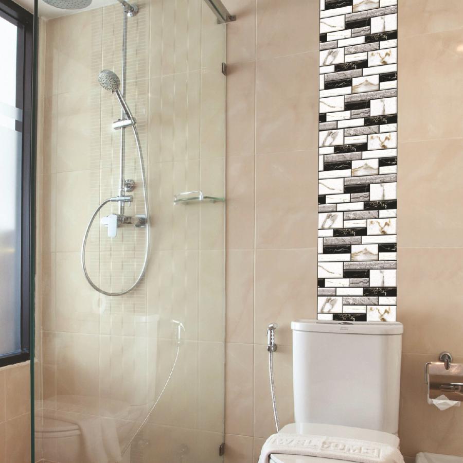 ウォールステッカー レンガ風 タイル風 煉瓦風 壁シール 壁紙 デコレーション 室内装飾 部屋 飾り ルームステッカー 立体的 子ども部屋 トイレ お Zak 53220 おとりよせ Com 通販 Yahoo ショッピング