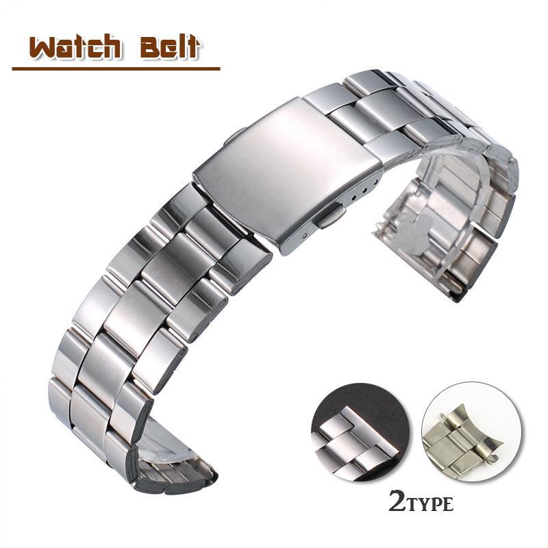 腕時計用ベルト 国内送料無料 替えベルト メンズ レディース メタルバンド マーケット 3連 ストラップ ブレス 20mm 18mm 交換用 シンプル パー 16mm 22mm