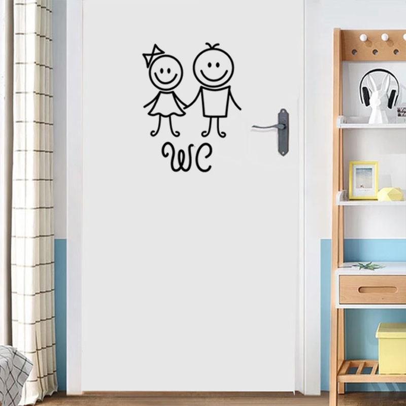 ウォールステッカー ステッカー 壁シール インテリア 出荷 人気急上昇 装飾 デコレーション 模様替え 飾り付け トイレ ウォールデコレーション DIY 浴室 かわいい