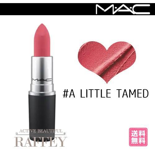 MAC A LITTLE TAMED 301 リトル タームド M.A.C マック パウダーキス リップスティック 3g 口紅|mijirushi0606