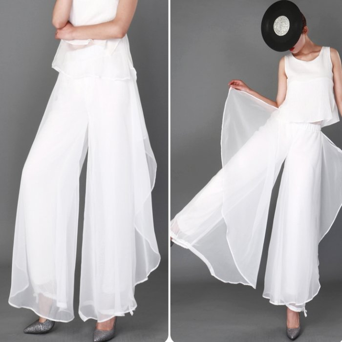 上下セットアップ cy413-yo-ホワイト 保証 ダンス衣装 トップス パンツ スカンツ ヒップホップ ワイドパンツ cy413- 春の新作