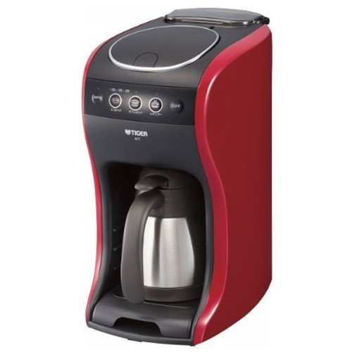 タイガー コーヒーメーカー カフェバリエ レッド ACT-A040-R