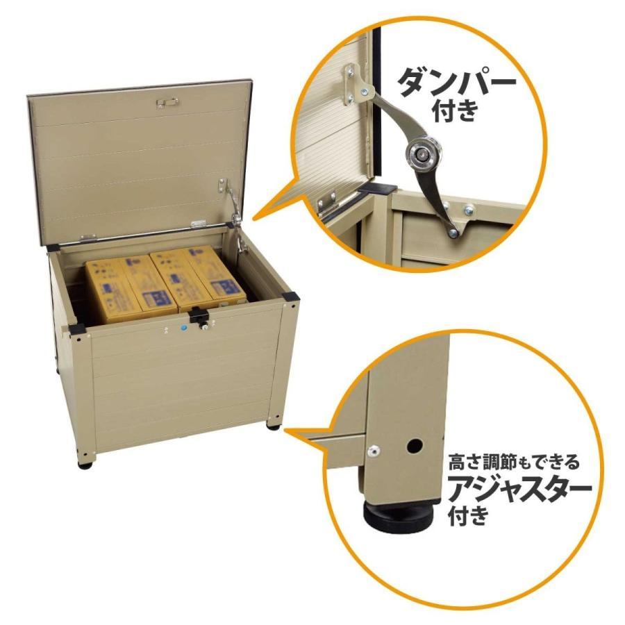 グリーンライフ 宅配ボックス TRA-64(TGY) 奥行46×高さ48.5×幅64cm