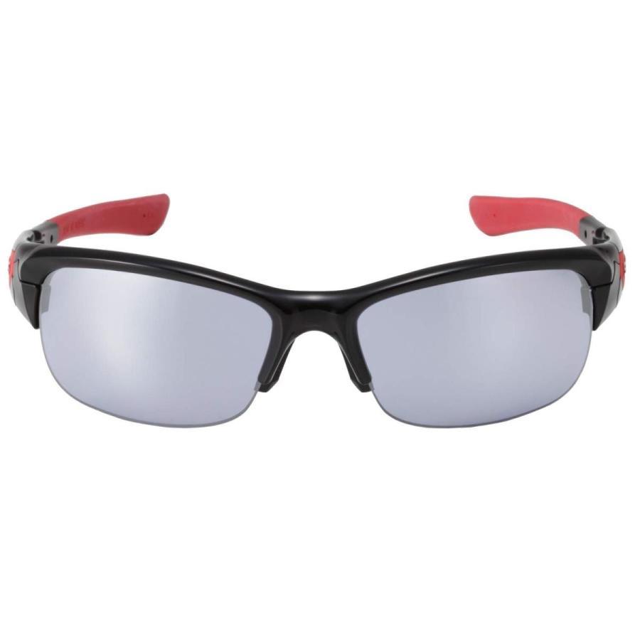 上質で快適 SWANS(スワンズ) スポーツ サングラス スプリングボック ミラーレンズモデル SPB-0714 BK ブラック×レッド ゴルフ ボール, エニースタイル f265cd18