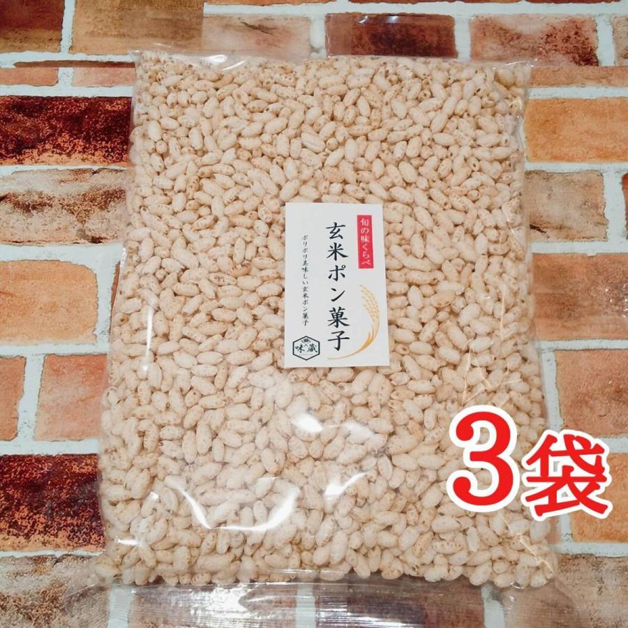 旬の味くらべ 自然の美味しさ 国産米100% 玄米 ポン菓子 シリアル 135g 3袋|mikawaya-chana