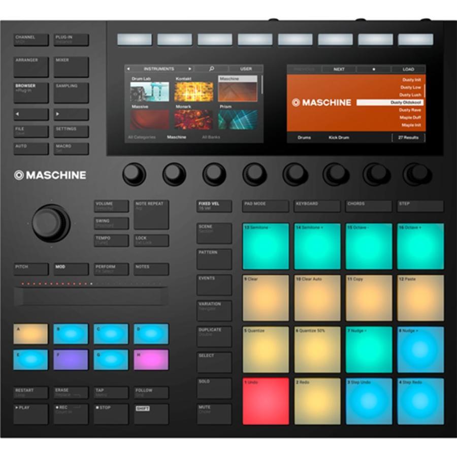 Native Instruments MASCHINE MK3 :AAA4042477247560:三木楽器Yahoo!ショップ - 通販 -  Yahoo!ショッピング