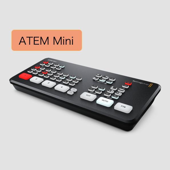 Blackmagic Design(ブラックマジックデザイン) ATEM Mini(エーテムミニ)【国内正規品】|mikiwebstore