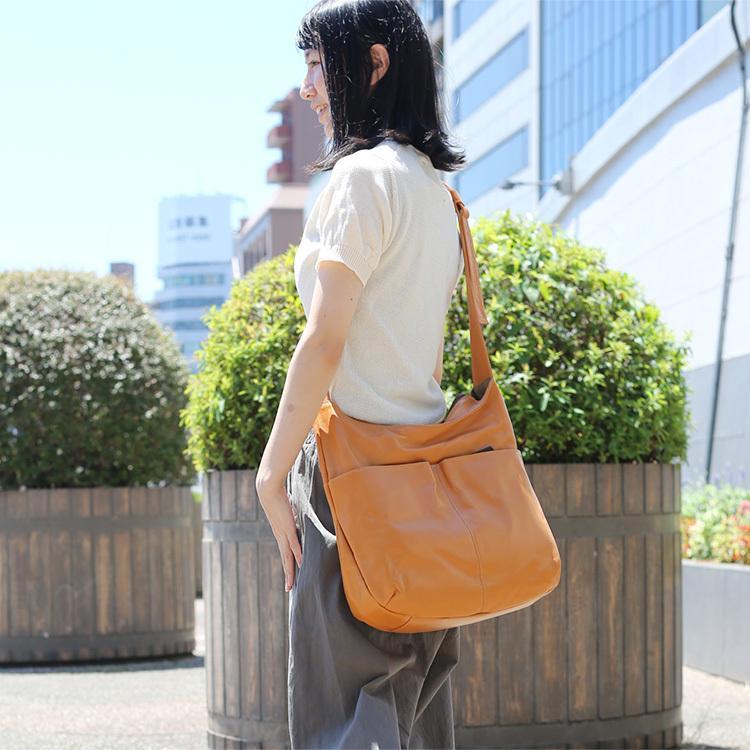 【送料無料】【日本製】A4対応の大きいショルダーバッグ 721111|mikiyabagcollectin|07