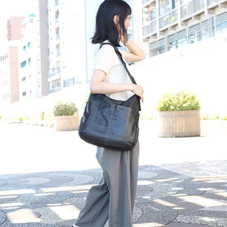 【送料無料】【日本製】A4対応の大きいショルダーバッグ 721111|mikiyabagcollectin|09