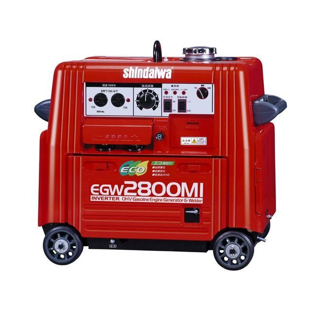 新ダイワ(やまびこ) ガソリンエンジン溶接&発電機(インバータ) 2.8kVA <EGW2800MI>