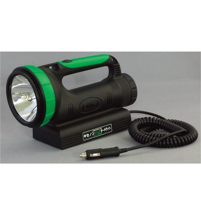 日動工業 充電式サーチライト(HID) 35W キセノン球 <HIDL-35W-BA> 作業用照明・懐中電灯