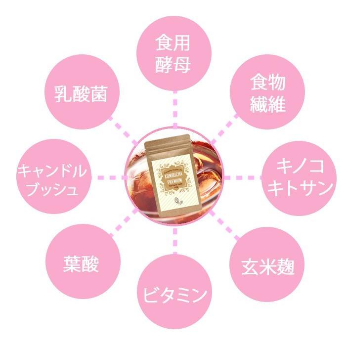 コンブチャのダイエットドリンク コンブチャプレミアム|mikys|04