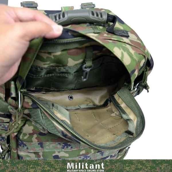 アサルトバッグ ラージ モール迷彩 リュック バックパック|militantonline|05
