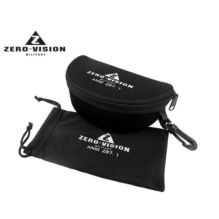 ZERO VISION ZV-101BK(スモーク) 防弾ゴーグル|militantonline|02
