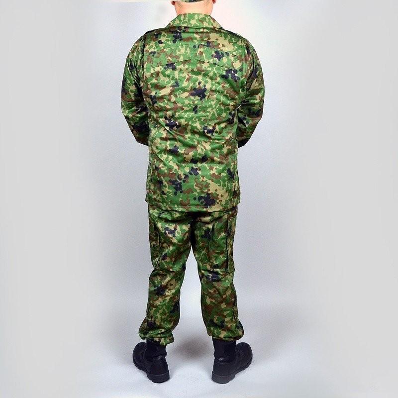 迷彩作業服  3型 麻混 夏用作業服 militantonline 04