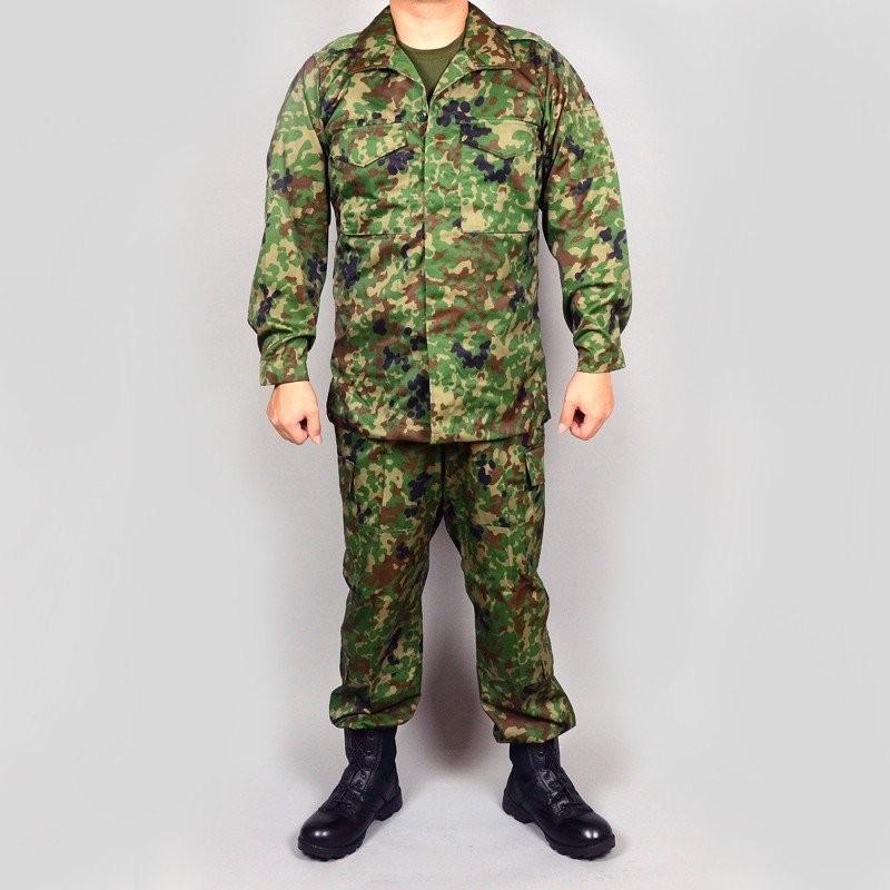 迷彩作業服  3型 麻混 夏用作業服 militantonline 05