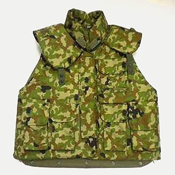 陸上自衛隊防弾ベスト(レプリカ) 襟カバー付|militantonline