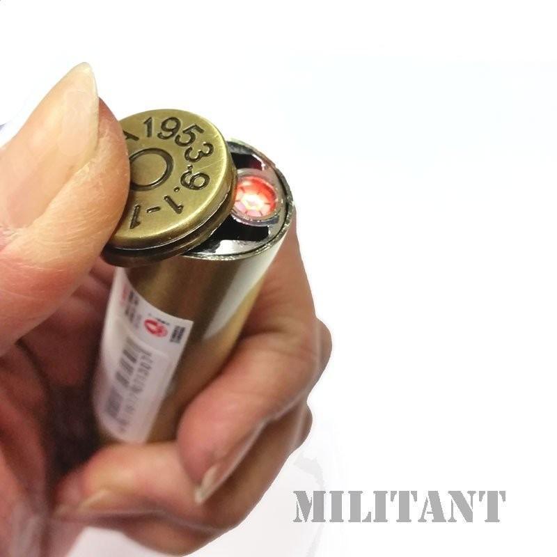 ビュレットターボライター 弾丸型ガス注入式ライター|militantonline|03