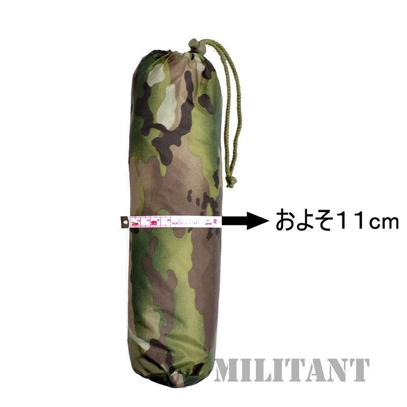超軽量 ポンチョ(収納袋付き) マルチカム/航空デジタルグレー|militantonline|06