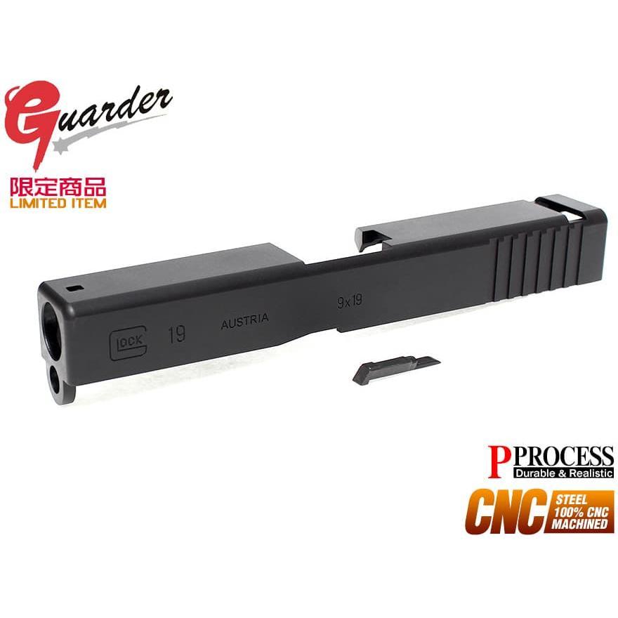 GLOCK-55(BK) GUARDER CNCスチールスライド MDP360 KJ G19