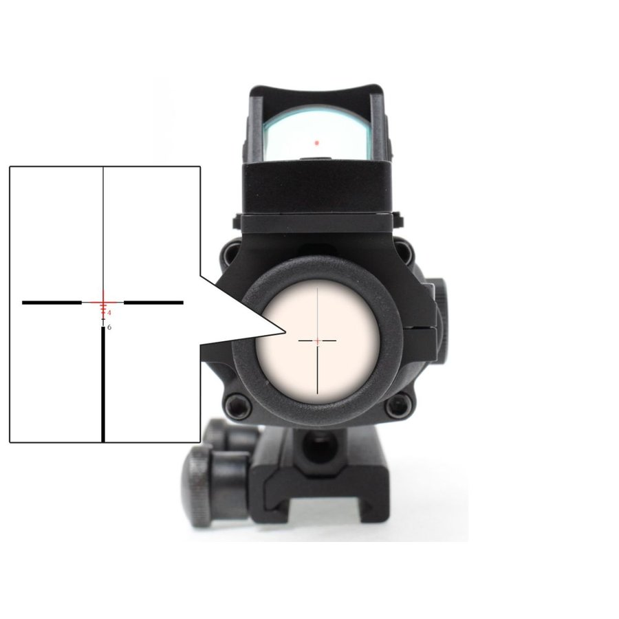 M150 RCO TA31 ECOS COMBO 4×32 タクティカル CQBスコープ(自動調光) militarybase 06