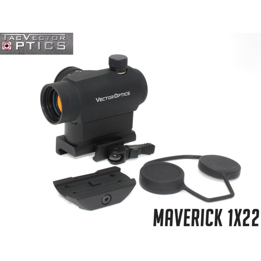 VECTOR OPTICS Maverick 1x22 マイクロドットサイト