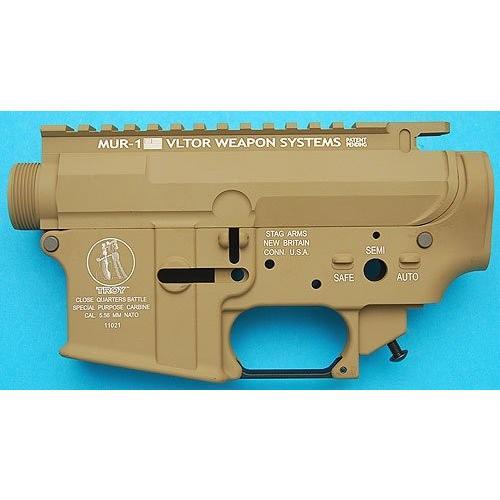 G&P Troy タイプメタルフレーム(MUR) for WA GBB M4 SAND