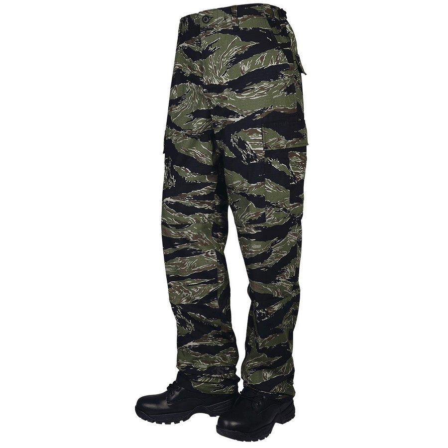 TRU-SPEC TRU BDU パンツ Original Vietnam Tiger Stripe SRサイズ 1593003