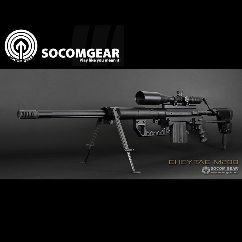 SOCOM GEAR CHEYTAC M200 ガス スナイパー 正規ライセン BK