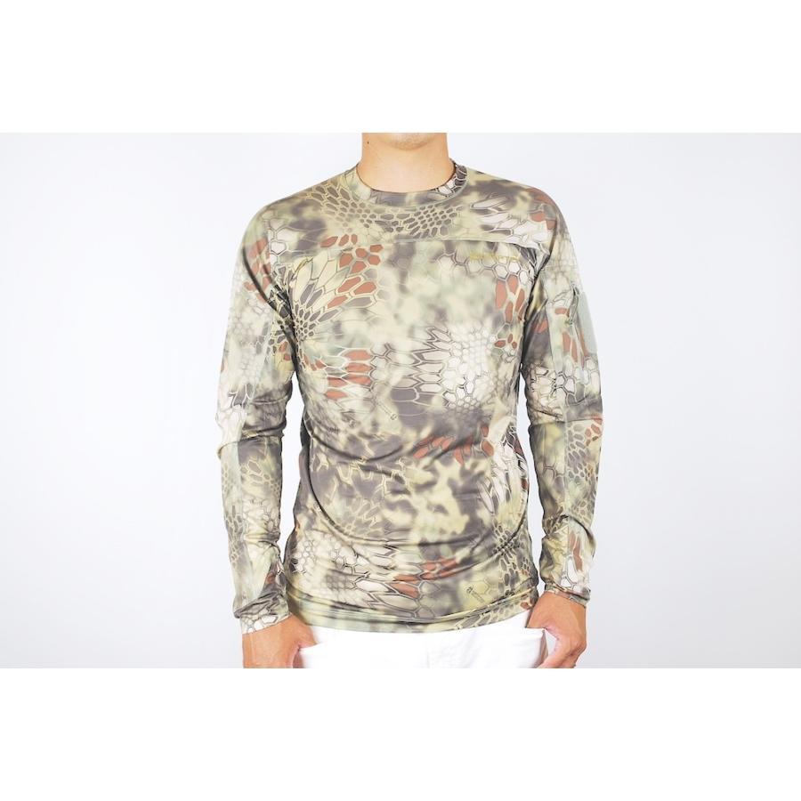 Kryptekクリプテックオリジナル正規品VALHALLALSCREW長袖Tシャツ18VALLSCM3MANKDRAKEマンドレイクSサイズ
