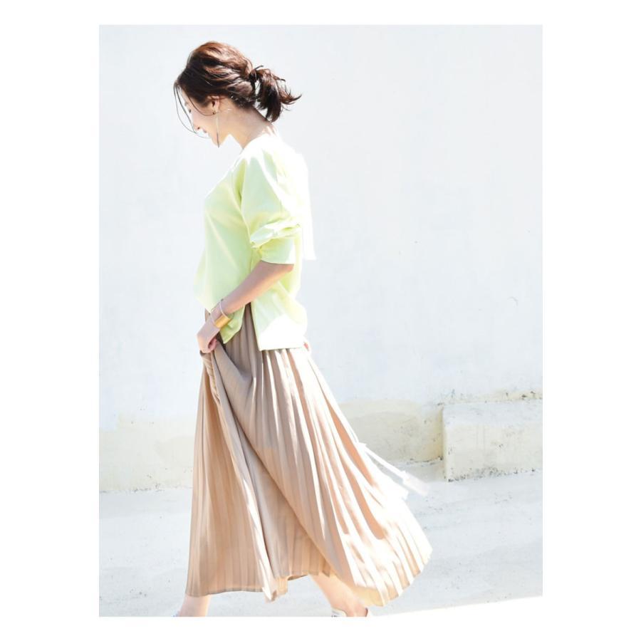 SALE 授乳服 マタニティ エミリーバックリボンパフィ5分袖カットソー 1点までメール便可 ジッパータイプの授乳口 授乳ケープみたいに使える Tシャツ レディース|milktea-mm|17
