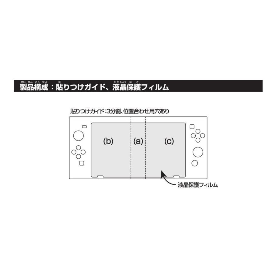 Nintendo Switch専用液晶保護フィルム 貼りつけガイド付き 衝撃吸収 million-got 04