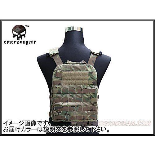 EMERSON製 CPスタイル AVSタクティカルベスト 軽量版 ATFG迷彩|million|02