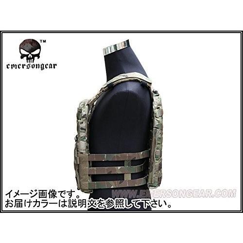 EMERSON製 CPスタイル AVSタクティカルベスト 軽量版 ATFG迷彩|million|09