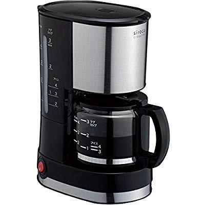 siroca ドリップ式コーヒーメーカー SCM-401メッシュフィルター/ドリップ方式 millioncacao 13