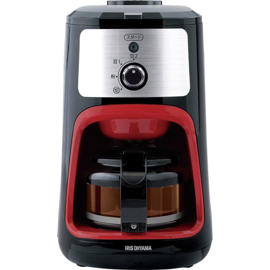アイリスオーヤマ コーヒーメーカー 全自動 メッシュフィルター付き 1~4杯用 ブラック IAC-A600|millioncacao|10