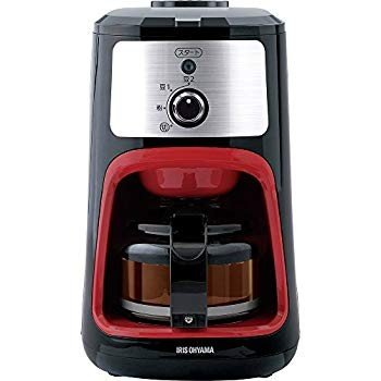 アイリスオーヤマ コーヒーメーカー 全自動 メッシュフィルター付き 1~4杯用 ブラック IAC-A600|millioncacao|11
