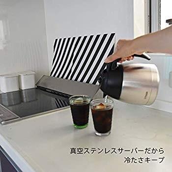 タイガー コーヒーメーカー 8杯用 真空 ステンレス サーバー アイス機能付き カフェブラック ACE-S080KQ millioncacao