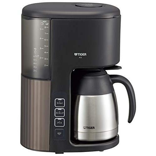 タイガー コーヒーメーカー 8杯用 真空 ステンレス サーバー アイス機能付き カフェブラック ACE-S080KQ millioncacao 13
