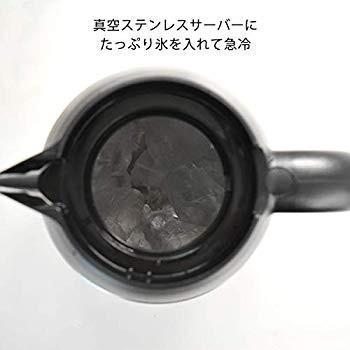 タイガー コーヒーメーカー 8杯用 真空 ステンレス サーバー アイス機能付き カフェブラック ACE-S080KQ millioncacao 05