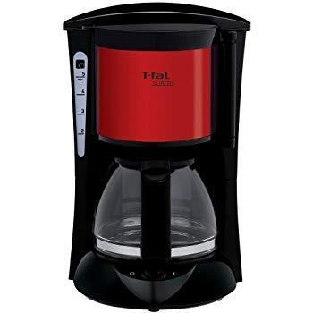 ティファール コーヒーメーカー スビト ペーパーレスフィルター メタリックルビーレッド CM151GJP|millioncacao|08
