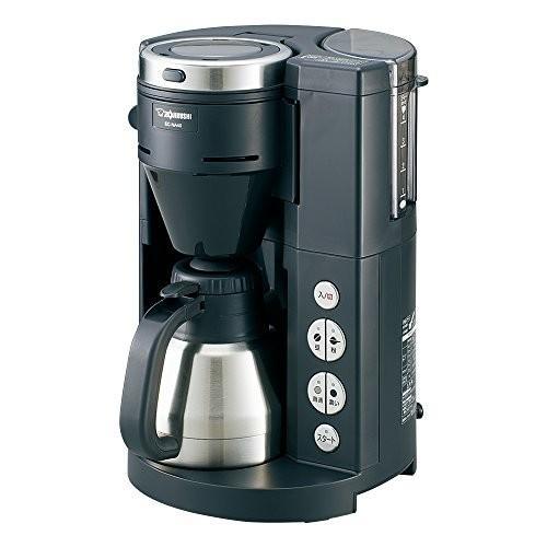 象印 全自動コーヒーメーカー ステンレス魔法瓶サーバー1~4杯用 EC-NA40-BA|millioncacao