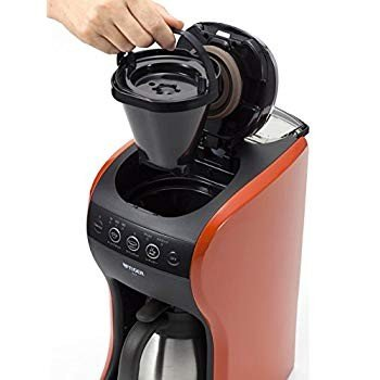 タイガー コーヒーメーカー 4杯用 真空 ステンレス サーバー バーミリオン カフェバリエ ACT-B040-DV millioncacao