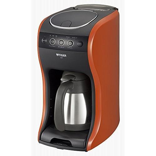タイガー コーヒーメーカー 4杯用 真空 ステンレス サーバー バーミリオン カフェバリエ ACT-B040-DV millioncacao 02