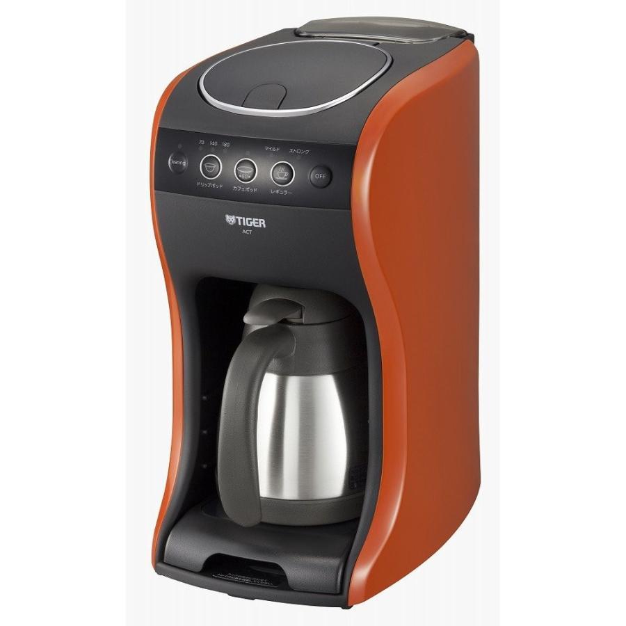 タイガー コーヒーメーカー 4杯用 真空 ステンレス サーバー バーミリオン カフェバリエ ACT-B040-DV millioncacao 03